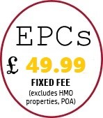 EPCs £45 in Nottinghamshire